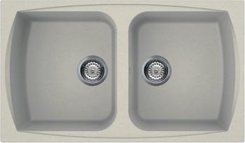 Кухонная мойка Smeg LSE 862 P-2  кремовый (GRANITEK) smeg sc106al2