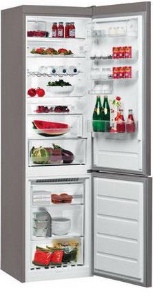 Двухкамерный холодильник Whirlpool BSNF 9752 OX холодильник beko rcnk365e20zx двухкамерный нержавеющая сталь