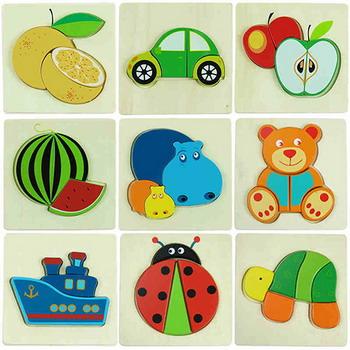 Вкладыши Фабрика Фантазий 40073 Игрушка деревянная новая деревянная игрушка для новорожденных игрушка монтессори