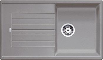 Кухонная мойка BLANCO ZIA 5 S серый беж смеситель blanco zenos s хром серый беж