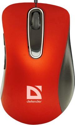 Мышь Defender Datum MM-070 красный 52071 мышь defender datum mb 060 черный