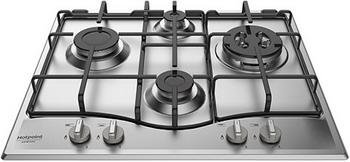Встраиваемая газовая варочная панель Hotpoint-Ariston 642 PCN T/IX/HAR hotpoint ariston pcn 642 ixha ru