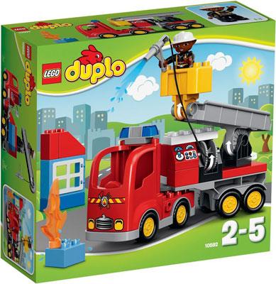 Конструктор Lego Duplo Пожарный грузовик 10592 цены онлайн