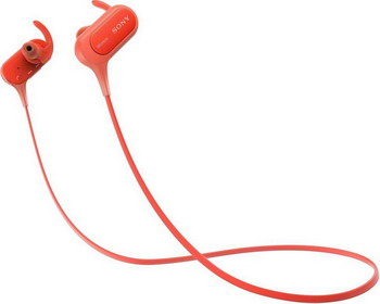 Наушники Sony MDR-XB 50 BS красный