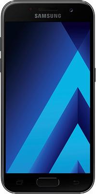 Мобильный телефон Samsung Galaxy A7 (2017) SM-A 720 F черный телефон нокиа с 7 00