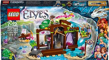 Конструктор Lego ELVES Эмили Джонс и дракончик ветра 41177  цена и фото