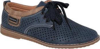 Полуботинки Капитошка C 8905 38 размер цвет синий ботинки для девочки капитошка цвет коричневый g10386 размер 34