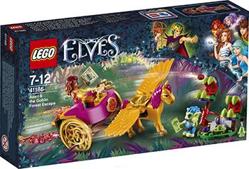 Конструктор Lego ELVES Побег Азари из леса гоблинов 41186-L конструктор lego elves 41178 логово дракона