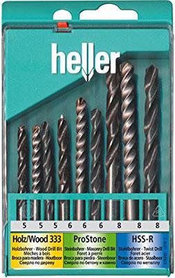 Набор комбинированный Heller TD 17741 набор сверл комбинированный sparta 725305