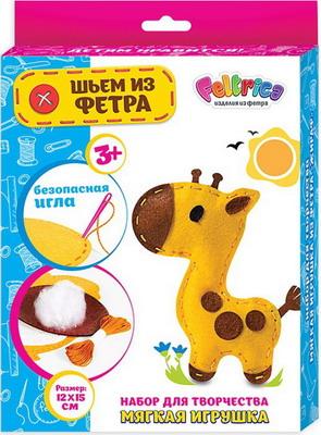 Набор для шитья Feltrica Шьем из фетра - Жираф 4627130656608 набор студия дизайна шьем для любимой куклы 1523вв 0019