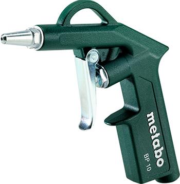 Пистолет продувочный Metabo BP 10 (601579000) пистолет продувочный jtc 5312 большой трубки 500мм вх 1 4 рабочее давление до15кг см3