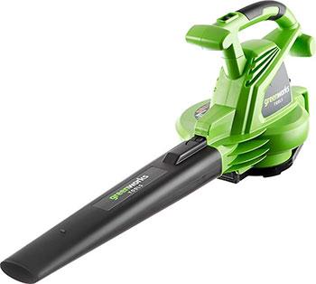 Воздуходувка-пылесос Greenworks 2800 W GBV 2800 2402707 автомобильный пылесос greenworks g24hv 4700007