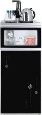 Кулер для воды Ecotronic с чайным столиком TB2-LE и выкатной полкой ecotronic v40 u4l black