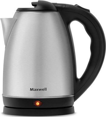 Чайник электрический Maxwell MW-1055 чайник электрический maxwell mw 1066 b 1850 вт синий чёрный 1 7 л нержавеющая сталь
