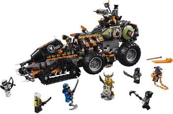 Конструктор Lego Ninjago: Стремительный странник 70654 конструктор lego земляной бур коула 70669 ninjago legacy