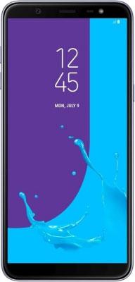 Мобильный телефон Samsung Galaxy J8 (2018) SM-J 810 F серый защитная плёнка для samsung galaxy s9 sm g960 прозрачная samsung et fg960ctegru