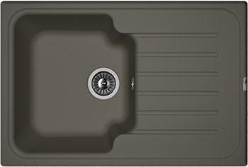 Кухонная мойка Florentina Таис 760 760х510 антрацит FSm мойка кухонная florentina липси 760 760х510 антрацит fsm 20 160 d0760 302