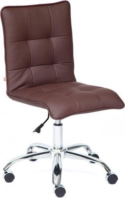 Кресло Tetchair ZERO (кож/зам коричневый 36-36) кресло tetchair runner кож зам ткань черный жёлтый 36 6 tw27 tw 12