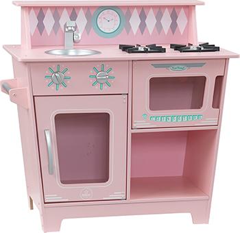 Игрушечная кухня KidKraft ''Классик'' цв. Розовый 53383_KE игровая кухня kidkraft большой интерактив цв белый 53369 ke