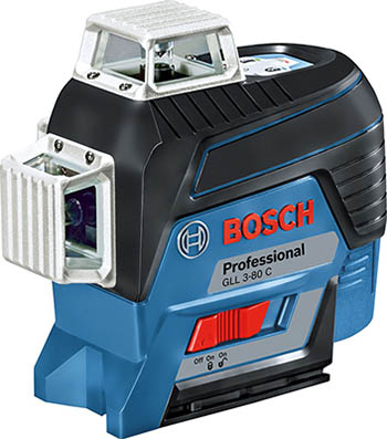 Лазерный нивелир Bosch GLL 3-80 C BT 150 вкладка 0601063 R 01 лазерный нивелир bosch pll2 штатив tt 150 0 603 663 401