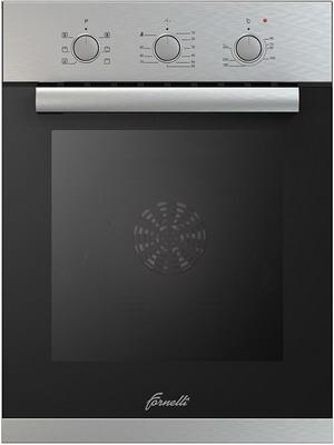 Встраиваемый электрический духовой шкаф FORNELLI FET 45 RISPETTO IX встраиваемый электрический духовой шкаф fornelli fet 45 rispetto bl