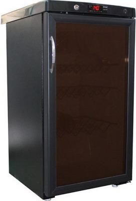 Холодильная витрина Саратов 505-02-01 черный