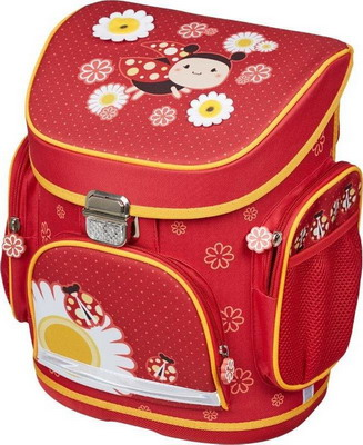 7d92f121136e Рюкзак 1 School Божья коровка 3 кармана ko 011920
