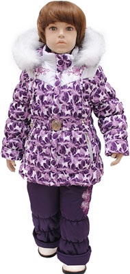 Комплект одежды Русланд Рт.110 Баклажан баклажан