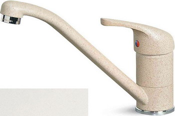 Кухонный смеситель Elleci MINERVA granitek (68) Bianco Titano MGKMIN 68 цена