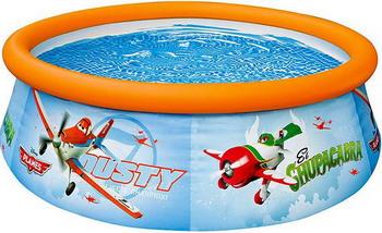 Надувной бассейн для купания Intex Easy set Самолеты 183х51 см intex