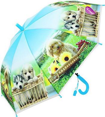 Зонт детский НТМ Верные друзья 48 см голубой алексей комлев верныечада