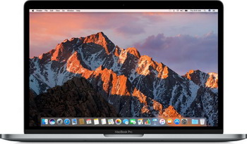 Ноутбук Apple MacBook Pro 13 with Retina display and Touch Bar Mid 2017 (MPXW2RU/A) серый космос ноутбук apple macbook pro 15 retina with touch bar late 2016 silver 2700 мгц
