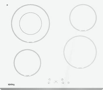 Встраиваемая электрическая варочная панель Korting HK 62001 BW korting hk 62001 b