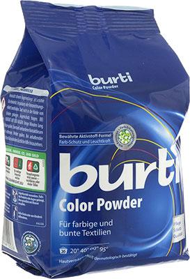 Стиральный порошок Burti для цветного и тонкого белья Color 1.5 кг стиральный порошок burti color для цветного белья 1 5 кг