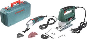 Многофункциональная шлифовальная машина Hammer Набор: инструмент многофункциональный LZK 500 S PREMIUM  и лобзик Flex LZK 500 LE