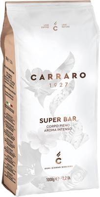 Кофе зерновой Carraro Super Bar 1 кг кофе зерновой carraro primo mattino