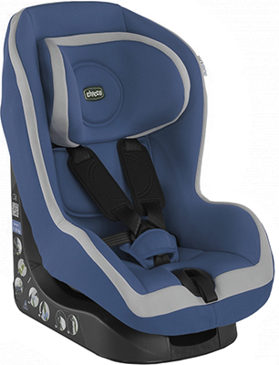 Автокресло Chicco GO - ONE Blue (Группа 1) 06079818800000 автокресло chicco eletta comfort race группа 0 1 07079409780000