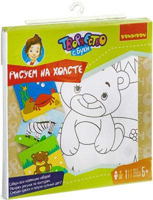 Набор для рисования Bondibon Медведь ВВ1991Б roberto verino vv tropic