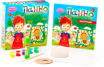 Набор для декорирования Bondibon Панно из шар-папье пчёлка ВВ1020 наборы для творчества bondibon набор для детcкого творчества панно из шар папье лошадкa