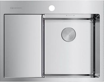 где купить Кухонная мойка OMOIKIRI AKISAME 65-IN-R нерж.сталь/нержавеющая сталь (4973059) дешево