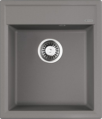 Кухонная мойка OMOIKIRI Daisen 42-GR Artgranit/Leningrad Grey (4993604) кухонный смеситель omoikiri tateyama s gr латунь гранит leningrad grey 4994176
