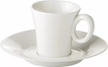 Чашка для эспрессо Tescoma ALLEGRO с блюдцем 387520 чашка для эспрессо tescoma crema с блюдцем