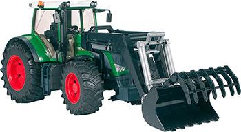 Трактор Bruder Fendt 936 Vario с погрузчиком 03-041 трактор bruder fendt 936 vario с погрузчиком 03 041