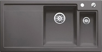 Кухонная мойка BLANCO 524147 AXON II 6 S (чаша справа) керамика базальт PuraPlus с кл.-авт. InFino axon очки elegance ii