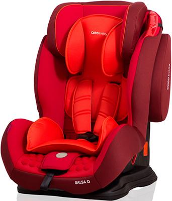 Автокресло CotoBaby САЛЬСА КЪЮ (9-36 кг) Красный YASH 66603 автокресло parusok samoon lux 9 36 кг красный