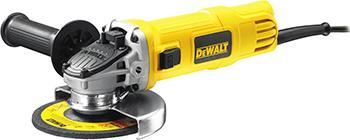 Угловая шлифовальная машина (болгарка) DeWalt DWE 4151 мультитул реноватор dewalt dwe 315 kt