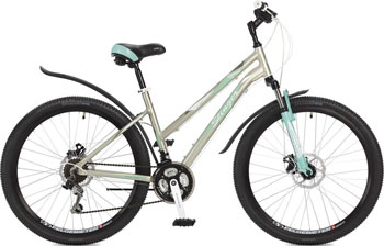 Велосипед Stinger 26'' Element lady D 17'' бежевый 26 AHD.ELEMLD.17 BG7 велосипед stinger element lady d 26 2016
