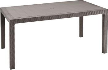 Стол Keter Melody коричневый стол для гриля keter unity 93 l коричневый 17202663