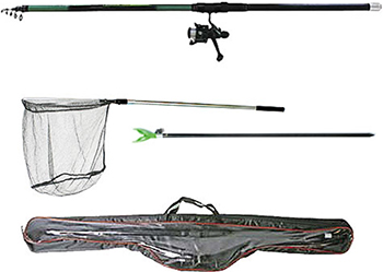 Удочка-комплект карповое Salmo Taifun TELE CARP COMBO 3.3 2122-330 SET salmo tournament 050 018