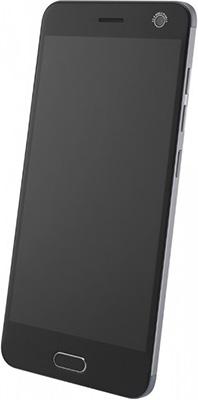 Смартфон ZTE Blade V8 64 Gb черный gangxun zte blade v8 корпус pu кожаный флип чехол для карт памяти для zte blade v8